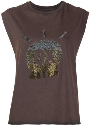 Zadig & Voltaire Skull Jormi sleeveless T-shirt
