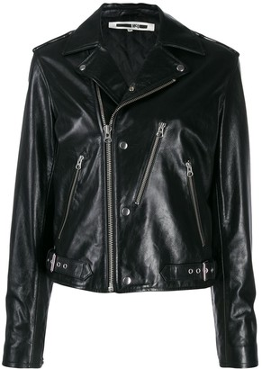 McQ zipped biker jacket