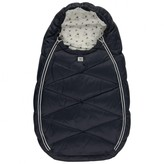 Navy Padded Baby Nest