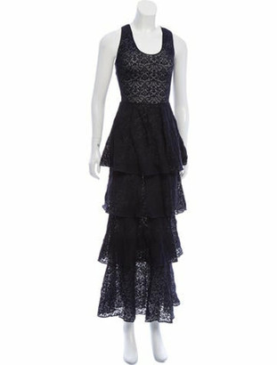 Stella McCartney Sleeveless Maxi Dress Navy