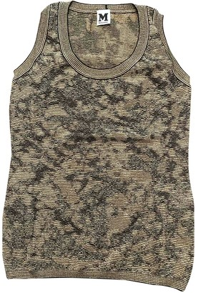 M Missoni Khaki Top for Women