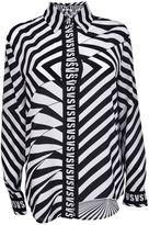 Versus Asymmetric Stripe Shirt