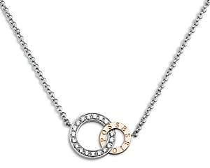 Piaget Women's Possession Diamond, 18K White & Rose Gold Pendant Necklace