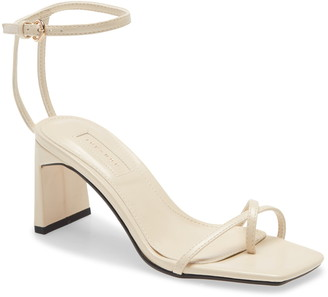 Topshop Nature Strappy Block Heel Sandal
