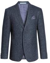 Sand Men's Trim Fit Herringbone Wool Blend Sport Coat