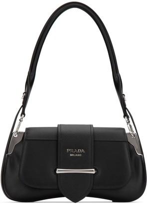 Prada Sidonie Buckled Shoulder Bag