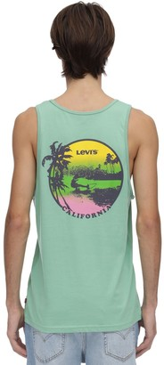 Levi's Graphic Cotton Tank Top