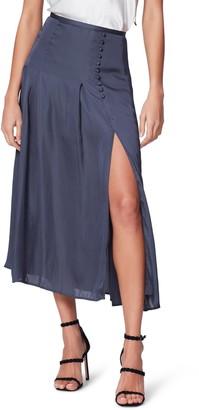 Paige Aerynne Front Slit Midi Skirt
