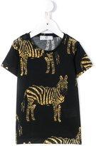 Young Versace zebra print T-shirt