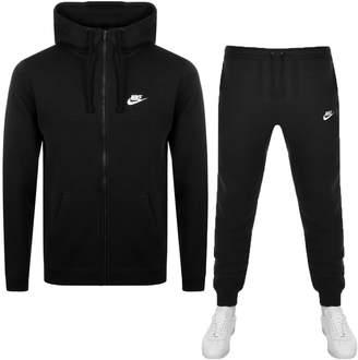 Nike Standard Fit Logo Tracksuit Black