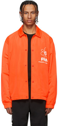 Perks And Mini Orange View Coach Jacket