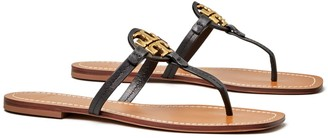 Tory Burch Mini Miller Leather Thong Sandal