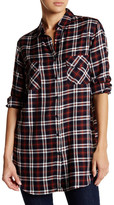 BB Dakota Harwood Washed Plaid Shirt