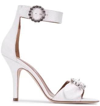 Paris Texas Embellished Buckle Sandals