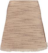 Raoul Ambra fringed tweed mini skirt
