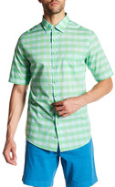 Rodd & Gunn Patching Plaid Short Sleeve Original Fit Shirt