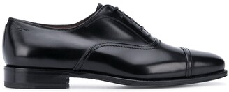Salvatore Ferragamo Square-Toe Oxford Shoes