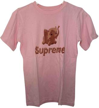 Supreme Pink Cotton Tops