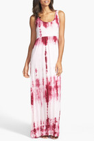 Daniel Buchler Tie Dye Maxi Dress