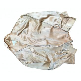 Escada Orange Silk Top for Women
