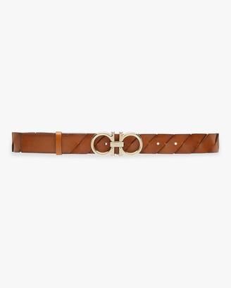 Salvatore Ferragamo Braided Leather Belt