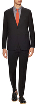 Armani Collezioni Wool Solid Notch Lapel Suit