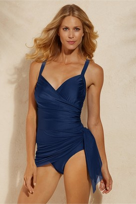 Women Sarong Swimsuit By Carol Wior