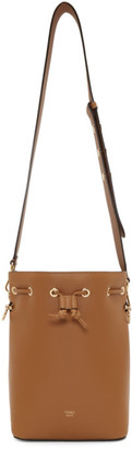 Fendi Brown Small Mon Tresor Bag