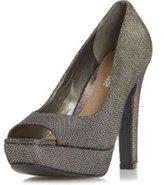 Dorothy Perkins Womens *Head Over Heels by Dune 'Cadenza' Grey Shoes- Grey