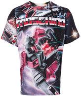 Moschino Transformers logo T-shirt - men - Cotton - 44