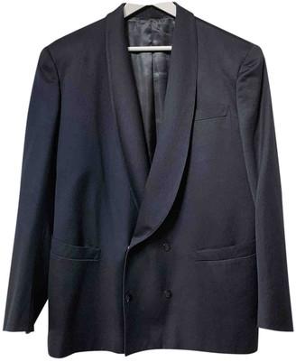 Thierry Mugler Black Wool Jackets