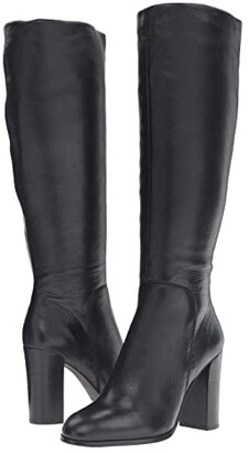 Kenneth Cole New York Justin (Black Leather) Women's Boots