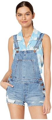Blank NYC Denim Overalls in Double Agent