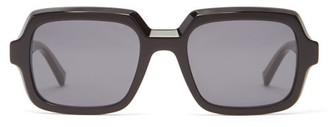Givenchy Oversized Squared Acetate Sunglasses - Black