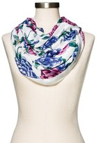 Merona Fashion Scarves Floral White