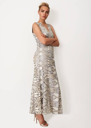 Phase Eight Zoey Lace Maxi Dress