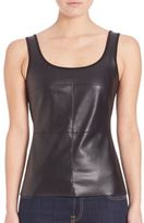 Bailey 44 Fonda Faux-Leather Tank Top
