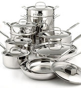 Chef's Classic Stainless 17 Piece Cookware Set