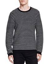The Kooples Merino and Leather Sweater