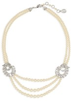 Ben-Amun Women's Faux Pearl Multistrand Necklace