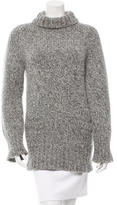 A.P.C. Wool & Angora Turtle Neck Sweater