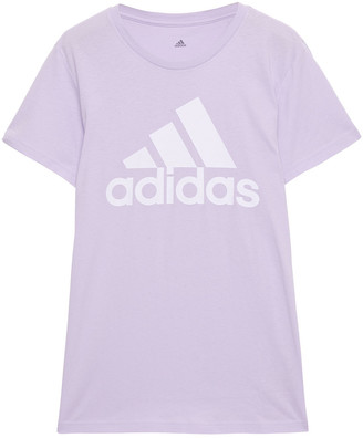 adidas Printed Cotton-jersey T-shirt