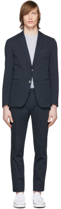 HUGO BOSS Navy Hanry2 and Barlow1-D Suit