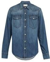 Salle Privée Salle Privee - Rohe Denim Shirt - Mens - Blue