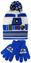 Star Wars R2-D2 Kids Cuffed Knit Hat and Gloves Set