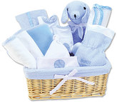 Trend Lab Blue Deluxe Basket 12-Piece Feeding Gift Set