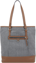 Accessorize Stripe Shopper Bag