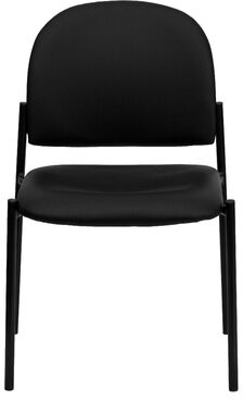 Thumbnail for your product : Flash Furniture Personalized Vinyl Comfortable Stackable Steel Side Chair