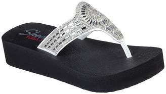 Skechers Womens Vinyasa - Moon Star Flip-Flops