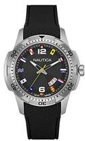 Nautica Silicone Nai13517G Men's Wrist Watch